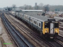 Class 210 DEMU at Oxford