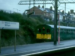 The Witham - Braintree branch worked by the 306 unit for an event in 1998