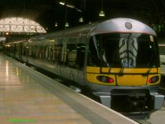 Heathrow Express unit at Paddington, 332003