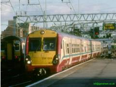 334004 at Glasgow Central in 2004