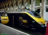 Hired Eurostar at Kings Cross in May 2000
