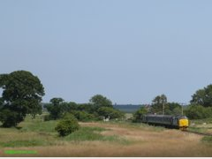 37425 & 405 heading for Yarmouth from Reedham July 2015