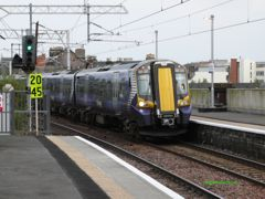 380021 approaches Paisley Gilmour Street in 2011