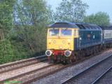47620 with an Oxford service near Didcot