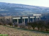 Dinting Viaduct February 2001, on the former Woodhead route, now the Hadfield branch